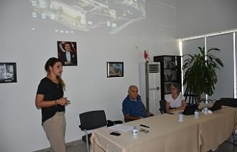 Girne Belediyesi'nde iş sağlığı ve güvenliği eğitimi