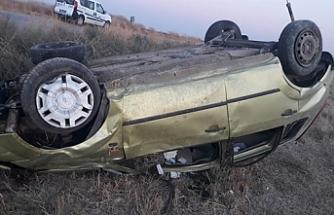 Nergisli yolunda kaza