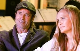11 yıl evli kaldığı Angelina Jolie ile boşanan Brad Pitt, yeni sevgilisiyle görüntülendi
