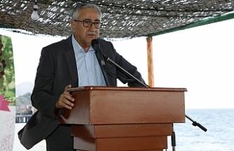 """Akıncı: """"Huzur, barış, güvenlik ve eşitlik içinde  adada yaşama hakkımız"""""""
