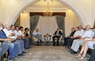Akıncı, İki Toplumlu Barış İnisiyatifi üyelerini kabul etti