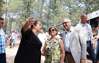Akıncı, Karadeniz Kültür Şenliği'ne katıldı