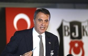 Beşiktaş Kulübü Başkanı Fikret Orman'dan istifa açıklaması