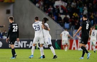 Beşiktaş'tan Avrupa Ligi'ne kötü başlangıç