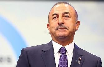 """Çavuşoğlu: """"Önce nasıl bir çözüm istendiği netleştirilmeli"""""""