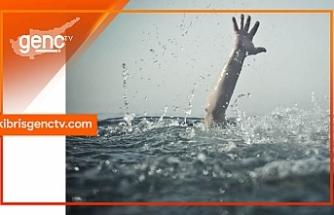 İskele'de boğulma tehlikesi...Yoğun bakımda