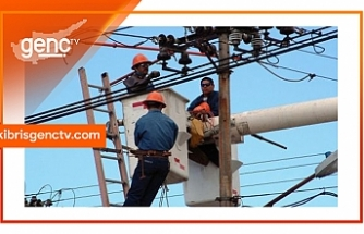Lefkoşa ve Gazimağusa'ya bağlı bazı köylerde elektrik kesintisi