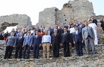 Başbakan, Anemurium Antik Kenti ziyaret etti
