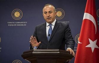 """Çavuşoğlu: """"Önce neyi müzakere edeceğimize karar vermemiz lazım"""""""