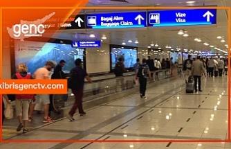 Ercan'da sahte pasaporttan 1 tutuklu