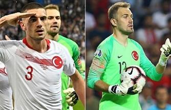 Merih Demiral ve Mert Günok UEFA'nın en iyi 11'inde