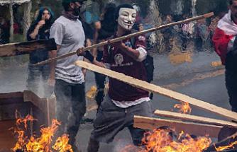 Protestoların devam ettiği Şili'de ölü sayısı 8'e yükseldi