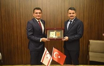 Bakan Oğuz, TC Tarım Bakanı Pakdemirli ile görüştü