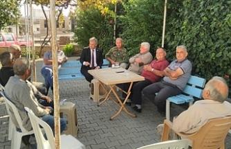 Bakan Pilli'den Aydınköy'e ziyaret
