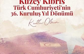 Erdoğan'dan KKTC paylaşımı