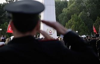 Kurucu Cumhurbaşkanı Rauf Raif Denktaş TMT Anıtı önünde yapılan törenle anıldı