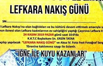 """""""Lefkara Nakış Günü"""" etkinliği"""