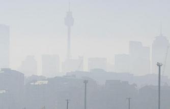 Sidney duman altında kaldı