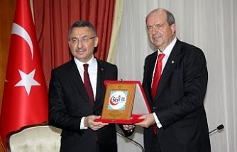 Tatar, Fuat Oktay'ı kabul etti