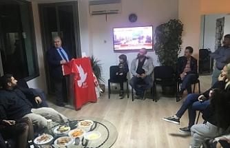 Toplumcu Kurtuluş Partisi Yeni Güçler'den bilgilendirme toplantısı