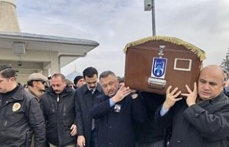 Büyükelçi Başçeri'nin babası son yolculuğuna uğurlandı
