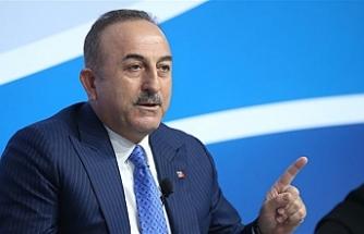 """Çavuşoğlu: """"Kıta sahanlığımızda bizden izinsiz çalışma yapan olursa engelleriz"""""""