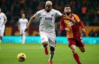 Galatasaray'dan zorlu galibiyet