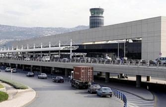 Kötü hava koşulları nedeniyle uçak Beyrut'a indi