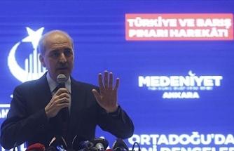"""Kurtulmuş: """"Türkiye Akdeniz'deki varlığını bu anlaşma ile ortaya koydu"""""""
