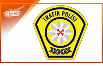 Polisten sürücülere yol uyarısı
