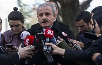 """Şentop: """"Türkiye'nin Doğu Akdeniz ile ilgili bugüne kadar atmış olduğu en stratejik adım"""""""