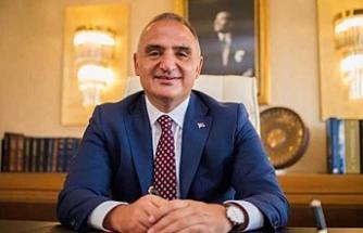 Türkiye Turizm Bakanı geliyor