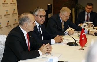 Akıncı, Kıbrıs Düşünce Platformu'nun toplantısına katıldı