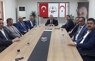 Ataoğlu, Silifke Ticaret ve Sanayi Odası heyetiyle görüştü