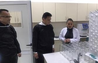 Bakan Oğuz'dan, Tarımsal Araştırma Enstitüsü'ne ziyaret