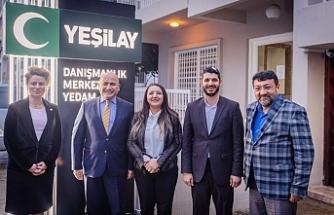 Başçeri, Kıbrıs Türk Yeşilay Derneği ve Kıbrıs YEDAM'ı ziyaret etti
