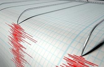 Bir deprem de Ankara'da