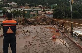 Brezilya'da sel ve heyelanlarda ölü sayısı 54'e yükseldi
