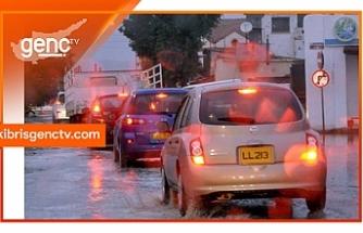 İşte yağış miktarları