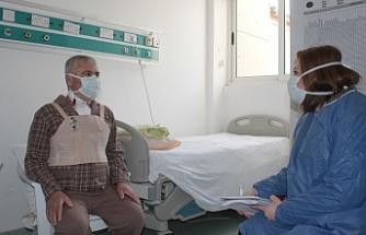 Kıbrıs'ta İkinci kalp nakli ile sağlığına kavuşan hasta duygularını dile getirdi