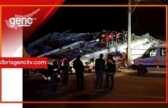 KKTC'den deprem ile ilgili mesajlar