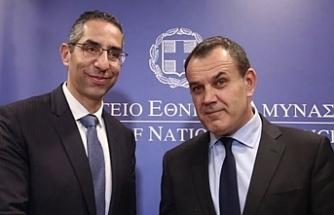 Rum ve Yunan Savunma Bakanları görüşme gerçekleştirdi