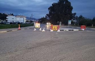 Trafik akışına kapatıldı