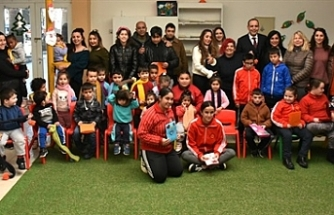 Yeşilyurt Özel Eğitim Merkezi, Lefkoşa'ya konuk oldu