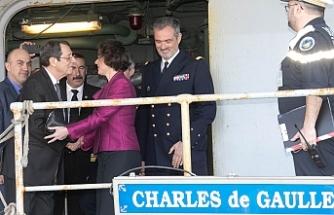 """Anastasiadis: """"Fransız gemisi net bir mesaj veriyor"""""""