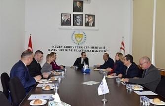 Bayındırlık ve Ulaştırma Bakanlığında çalışma toplantısı