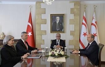 Cumhurbaşkanlığında toplantı