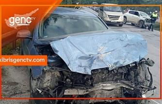Girne-Çatalköy yolunda kaza
