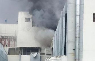 Hastane yangını Rum basınında