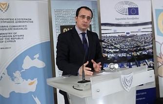 Hristodulidis, AB Dış İlişkiler Konseyi toplantısı için Brüksel'de